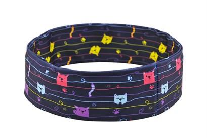 Нейлоновый пояс INSULA KIDS  для ношения инсулиновой помпы (котики) XXS (39-47 см.) - фото 5455
