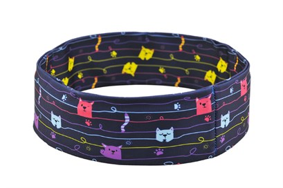 Нейлоновый пояс INSULA KIDS  для ношения инсулиновой помпы (котики) XS (47-55 см.) - фото 5458