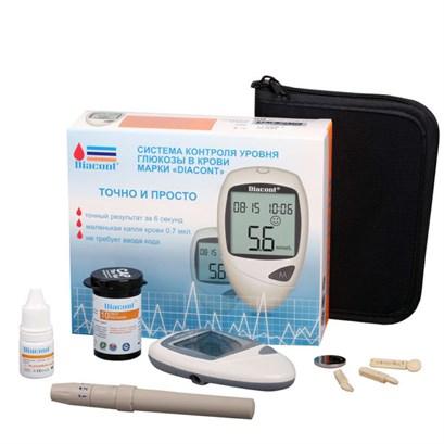 """Система контроля уровня глюкозы в крови """"Diacont@. Стандарт - фото 5508"""