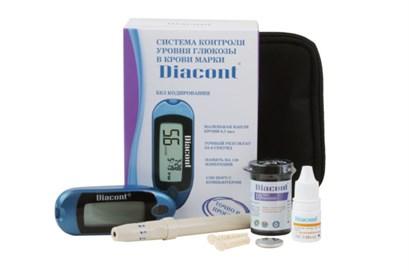 """Система контроля уровня глюкозы в крови """"Diacont"""". Компакт - фото 5512"""
