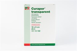 Curapor Steril Transparent 10*8 см (водоотталкивающий) пластырь
