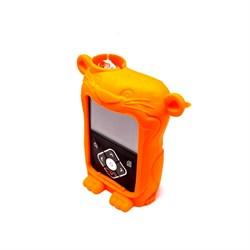 Чехол силиконовый Ленни для помпы MiniMed 640G, оранжевый
