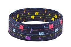 Нейлоновый пояс INSULA KIDS  для ношения инсулиновой помпы (котики) XS (47-55 см.)