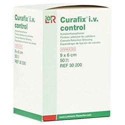 Curafix i.v. control 9*6 см. (Курафикс ай ви контроль) с прозрачным окном для фиксации катетеров 30200