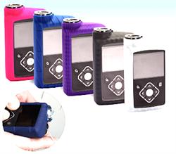 Скин силиконовый для помпы MiniMed 640G и 670G, (белый, синий, розовый, фиолетовый)