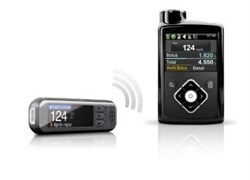 Контур* Плюс Линк 2,4 (Contour* Plus Link 2.4). Беспроводная система (к инс. помпе MiniMed 640G)для измерения уровня глюкозы в крови.